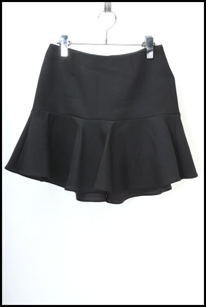 DEUXIEME CLASSE ダブルフェイスペプラムスカート