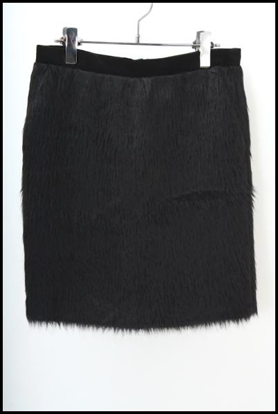 Drawer アルパカ シャギースカート