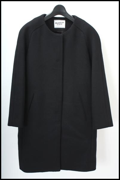 DEUXIEME CLASSE ノーカラー トラペーズコート