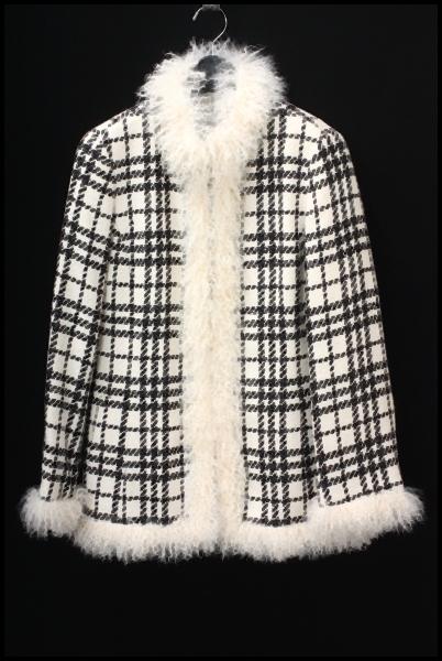 BURBERRY LONDON 中綿ツイード チェックコート