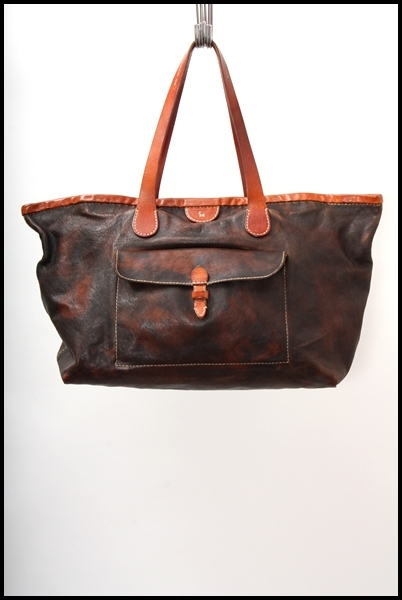 HENRY CUIR  レザートートバッグ