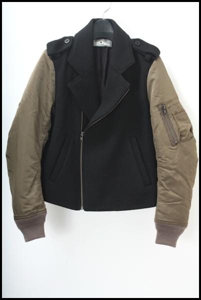 G.V.G.V. 限定MA-1袖ライダースジャケット